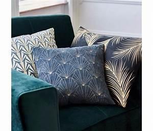 Coussin Art Deco : tendance une chambre art d co le blog construction ~ Teatrodelosmanantiales.com Idées de Décoration