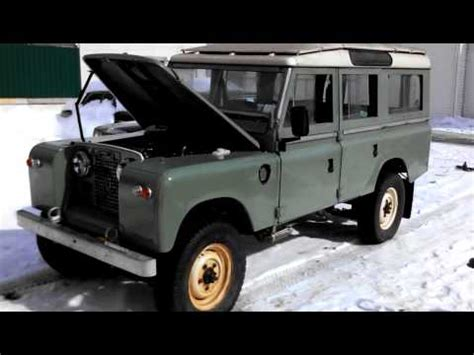 land rover series 3 turbo diesel conversion