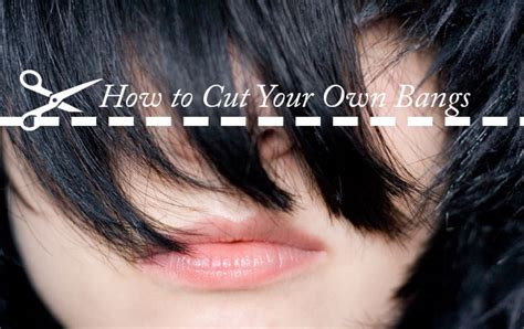 o cut your own how to cut your own hair bangs hirerush how