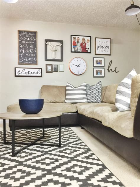 Scroll through these wall decor ideas for every type of person: 12 Affordable Ideas for Large Wall Decor | Birkley Lane Interiors