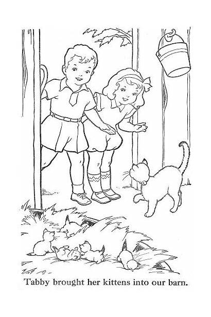 Coloring Pages Ribbon Spring Bonnie Jones Books
