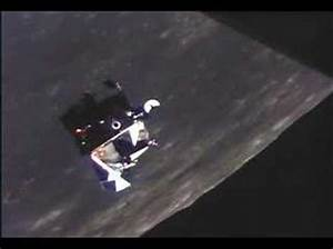 Apollo lunar module prepares for docking - YouTube