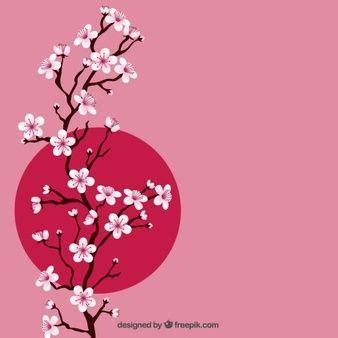 foto de Baixe Fundo Da Aguarela Da Flor De Cerejeira gratuitamente