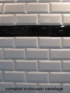 Faience Metro Blanc : carrelage mural blanc format 07 5x15 15x15 20x20 ~ Farleysfitness.com Idées de Décoration