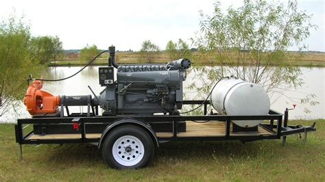 agricultural irrigation pumps custom deutz packages