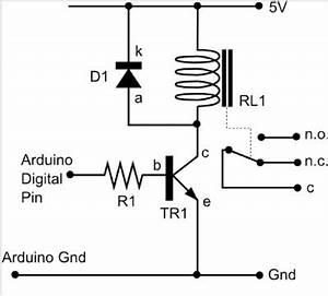 applications of relay with arduino arduitronics With spdt relay arduino