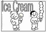 Ice Cream Coloring Summer Pages Melting Cone Eating Drawing Parlor Icecream Print Boy Clip Getdrawings Library Clipart Popular sketch template