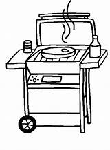 Bbq Grill Coloring Clipart Pages Clip Barbecue Bar Grilling Template Stok Silhouette Sandwich Colour Panda Crafts Master Tastic Heart Shrimp sketch template