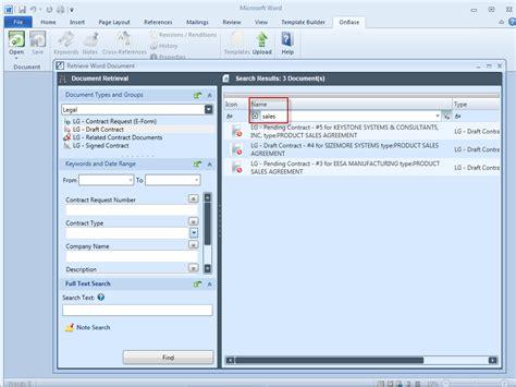 microsoft office integration wcl solution ecm software