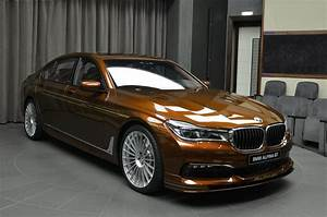 Bmw Alpina B7 : alpina b7 individual certainly looks different in chestnut brown with gold accents carscoops ~ Farleysfitness.com Idées de Décoration