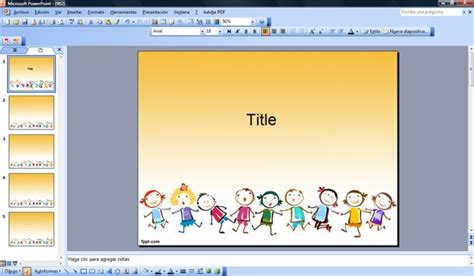 templates powerpoint gratis free children game powerpoint template