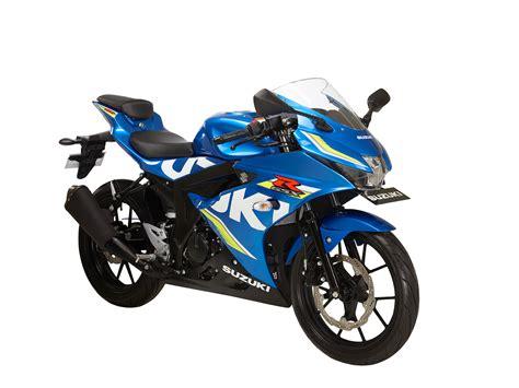 Modification Suzuki Gsx R150 by Gsx R150 Metallic Triton Blue Motogp Suzuki Dewi