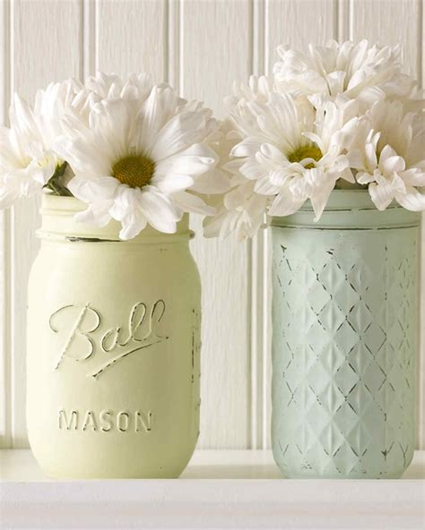 mason jars turned vintage decor vases martha stewart