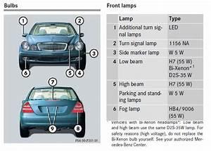 03 E320 Parking Light