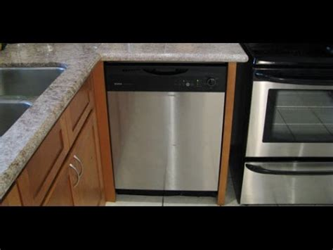 install a dishwasher in an existing kitchen cabinet installing a new dishwasher in the kitchen 9853