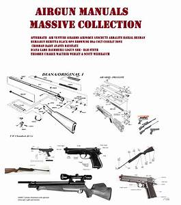 Logun Airgun Air Rifle Gun Owners Manuals Exploded