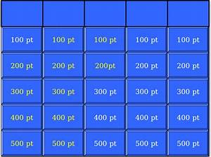 7 blank jeopardy templates free sample example format With jeopardy online game template