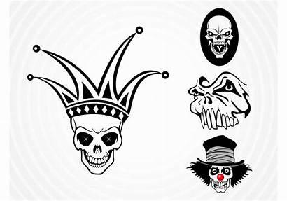 Weird Vectores Skulls Dead Gratis Teschi Morto
