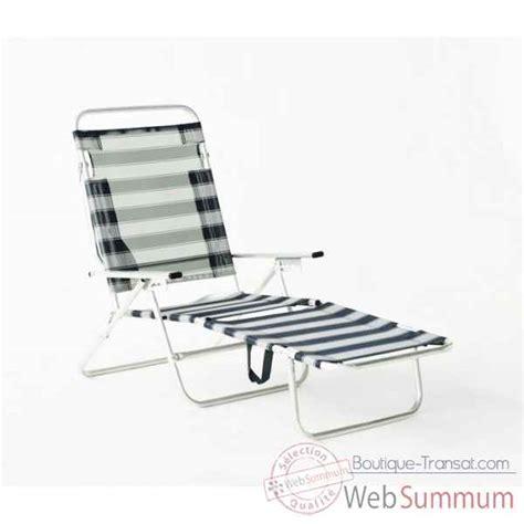 chaise longue plage achat de plage sur boutique transat