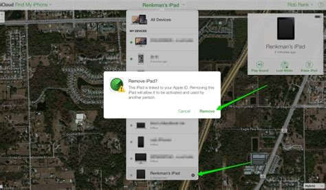 how to delete find my iphone how to remove your device from find my insight