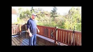 Geländer Aus Holz : so reinigen sie m helos ihre terrasse auch aus holz mit gel nder youtube ~ Buech-reservation.com Haus und Dekorationen