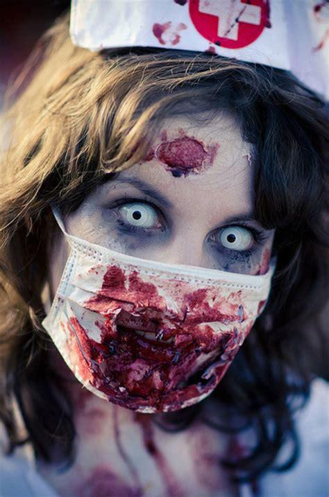 halloween zombie face    ideas trends  girls  modern fashion blog