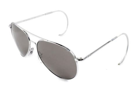 ao eyewear general silver comfort cable sunglasses by ao