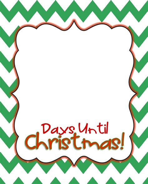 days till christmas template how many days tell christmas world of exles