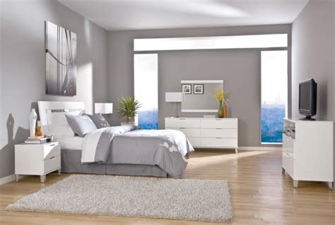 Moderne Schlafzimmer Und Wesentliche Elemente In Der