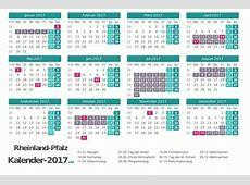 FERIEN RheinlandPfalz 2017 Ferienkalender & Übersicht