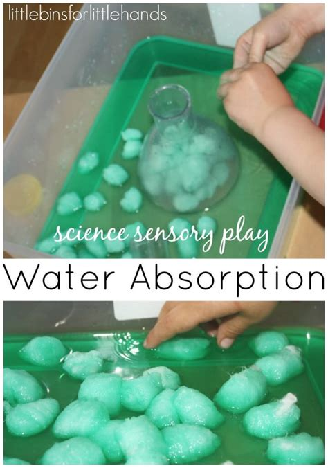 water sensory science activities  kids early learning play