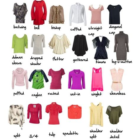 image result  types  women tops fashion terminology