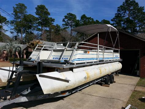 Old Boat No Title by Our First Boat 1980 Crest Iii Refurb Project Pontoon