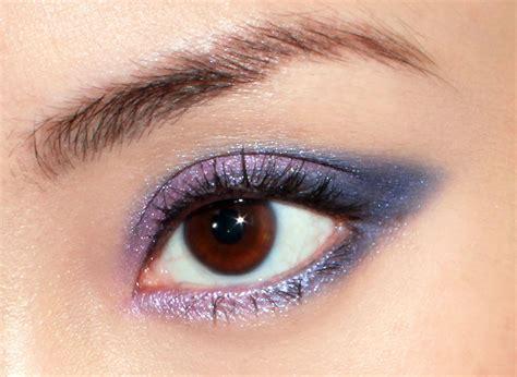 jason wu aw  inspired blue purple smoky cat eye