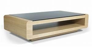 Table Basse En Verre Ikea : table basse miami hetre verre noir table basse topkoo ~ Teatrodelosmanantiales.com Idées de Décoration
