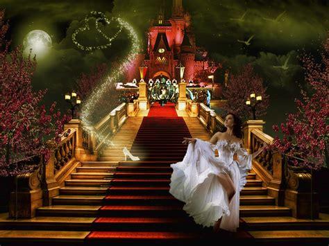 cinderella fairytale cinderella abstract fantasy hd