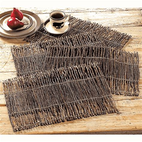 twig placemat