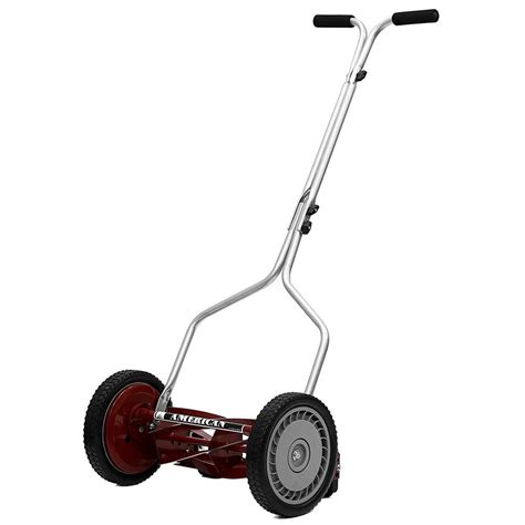 reel lawn mower durable blade trimmer light weight heavy
