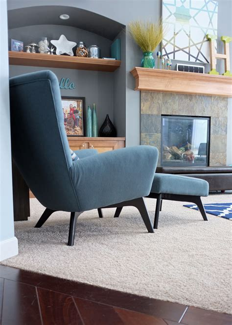 wing chair affair teal and lime by jackie hernandez
