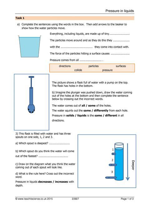 pressure  liquids