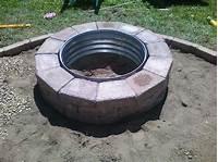 fire pit rings DIY Firepit – smalltownjules