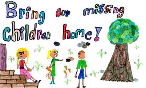 Doj Announces National Missing Children's Day Poster
