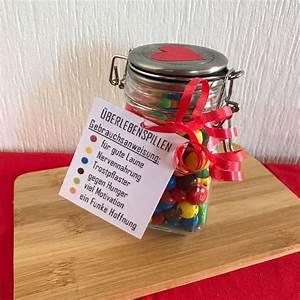 Kleines Geschenk Für Freund : diy geschenk berlebenspillen im glas ~ Watch28wear.com Haus und Dekorationen