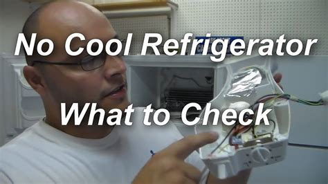 refrigerator not cooling what to check
