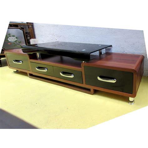 meuble tele en verre meuble t 233 l 233 hi fi verre et bois promodiscountmeubles magasin en ligne de meubles chinois et