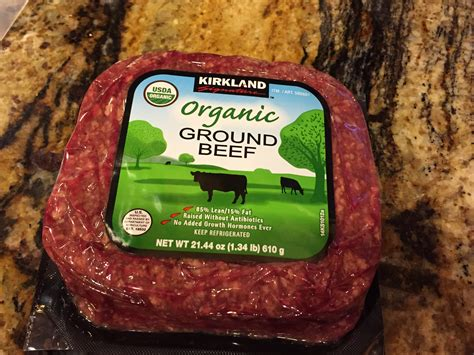 Costco Ground Beef   Simply Norma