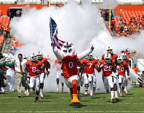 miami hurricanes fans  excited   years season