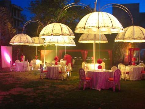 Umbrella Garden Decoration by Indoor And Outdoor Umbrella Wedding D 233 Cor Ideas