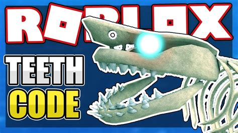 teeth code  sharkbite roblox youtube