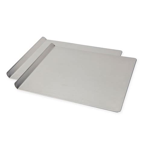 cookie sheet sheets inch fal airbake baking silver tools bed beyond bath pan pans piece bakeware kitchen jelly roll usa